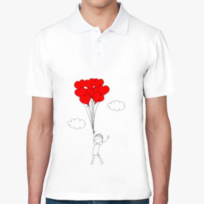 Рубашка поло Влюбленные люди