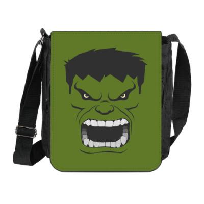 Сумка на плечо (мини-планшет) Hulk