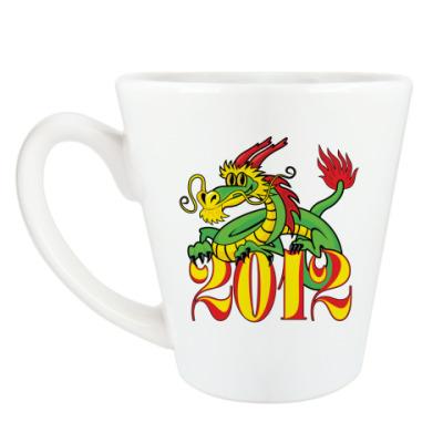 Чашка Латте Дракон 2012
