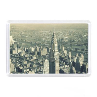 Магнит Нью-Йорк, Старое фото