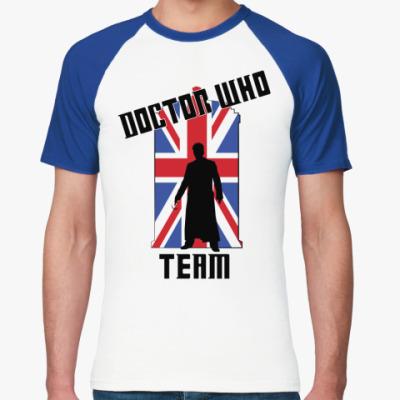 Футболка реглан Doctor Who Team