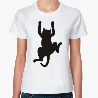 Классическая футболка Удержаться!