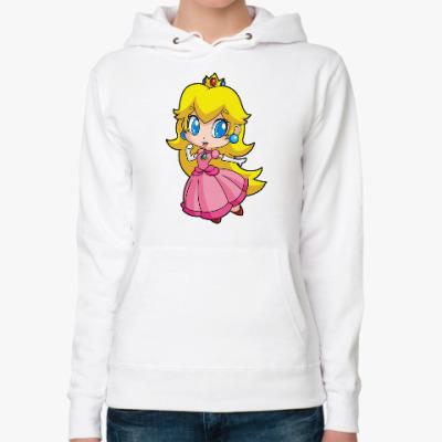 Женская толстовка худи Super Mario Princess