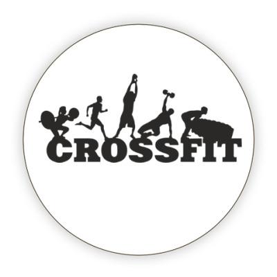 Костер (подставка под кружку) Crossfit