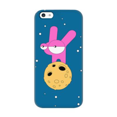 Чехол для iPhone 5c Лунные кроличьи настроения