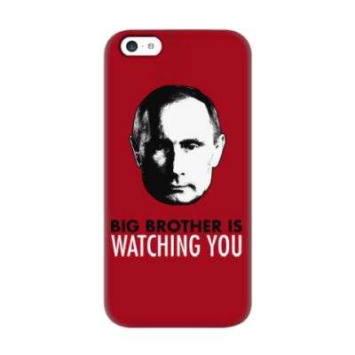 Чехол для iPhone 5c Big Putin Is Watching You