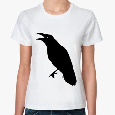Классическая футболка 'Ворона'