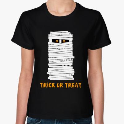Женская футболка Хэллоуин