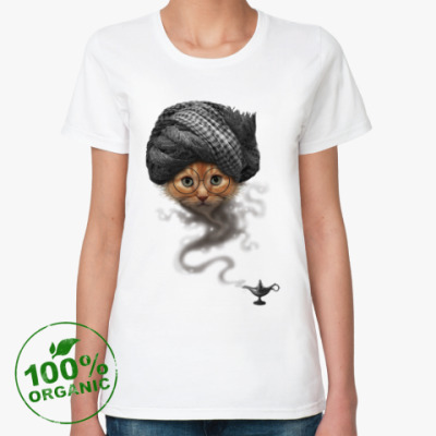 Женская футболка из органик-хлопка Я есть Джин