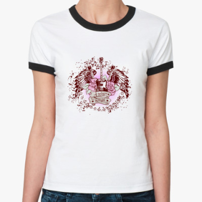 Женская футболка Ringer-T A minor songs
