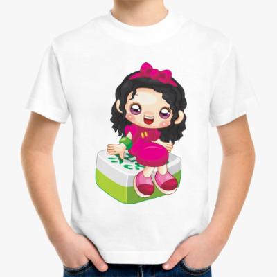Детская футболка Девочка аниме
