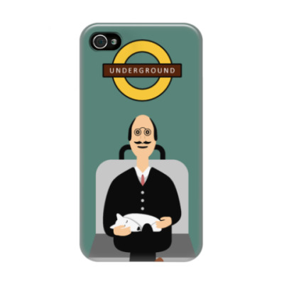 Чехол для iPhone 4/4s Underground