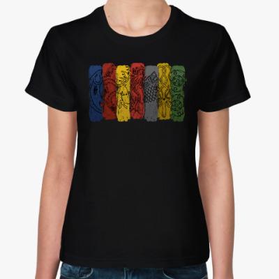 Женская футболка Гербы домов