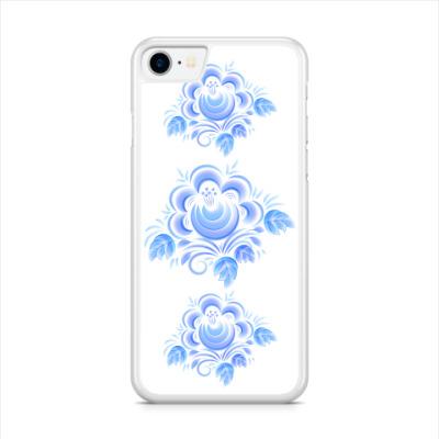 Чехол для iPhone Цветок Гжель