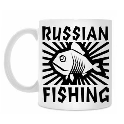 Кружка Русская рыбалка