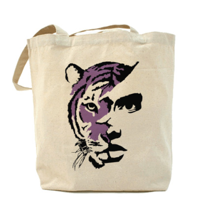 Сумка Тигр фиолетовый
