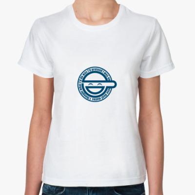 Классическая футболка  Laughing Man