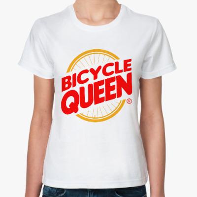 Классическая футболка Королева Велосипеда