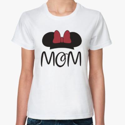 Классическая футболка Mom