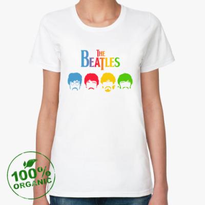 Женская футболка из органик-хлопка Beatles