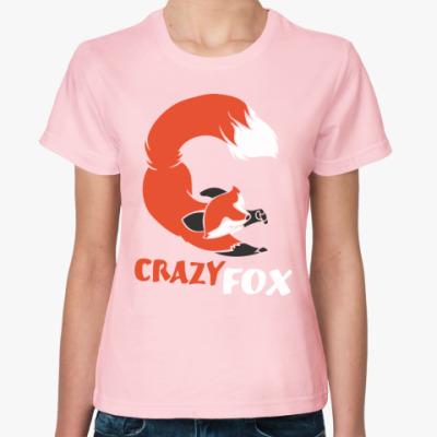 Женская футболка Лиса