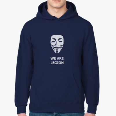 Толстовка худи We are Anonymous - Гай Фокс