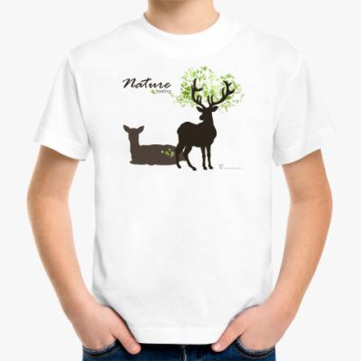 Детская футболка Детская футболка Олени