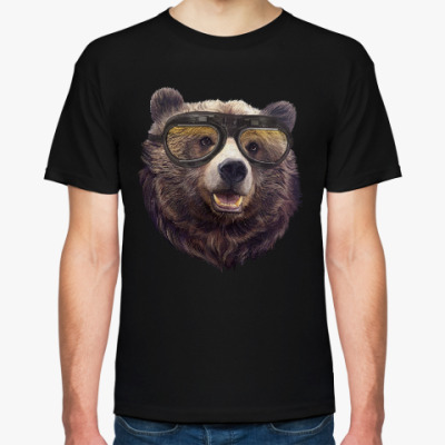 Футболка Медведь в очках