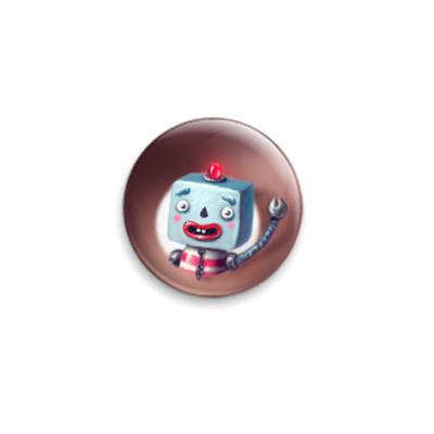 Значок 25мм Робот Роберт