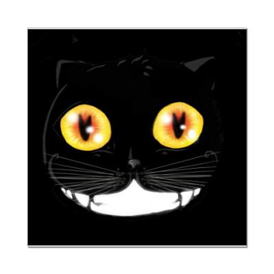 Наклейка (стикер) кот