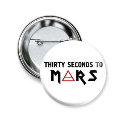 Значок 50мм Thirty seconds to mars