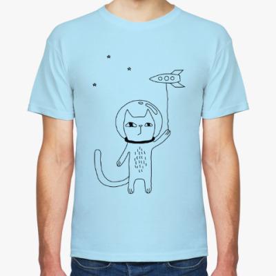 Футболка Космический кот