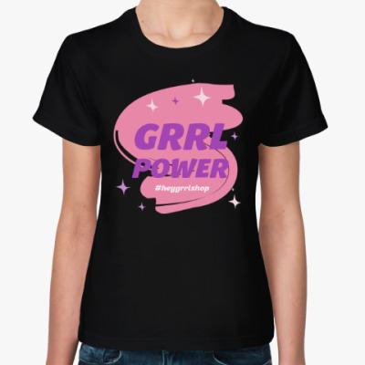 Женская футболка Grrl Power