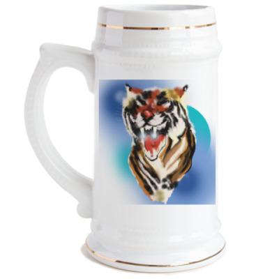 Пивная кружка Тигр