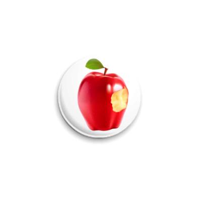 Значок 25мм В яблочко!