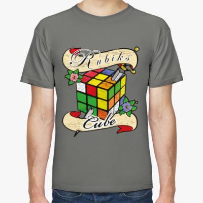 Футболка Меч и Кубик Рубика