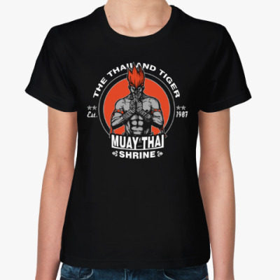 Женская футболка Муай Тай