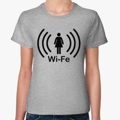 Женская футболка Жена