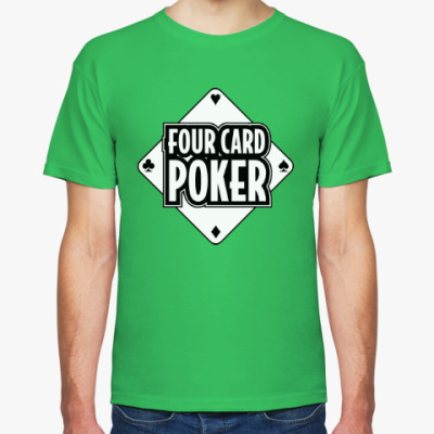 Футболка Four Card Poker