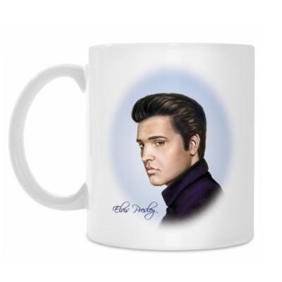 Кружка Elvis Presley портрет