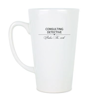 Чашка Латте Consulting Detective