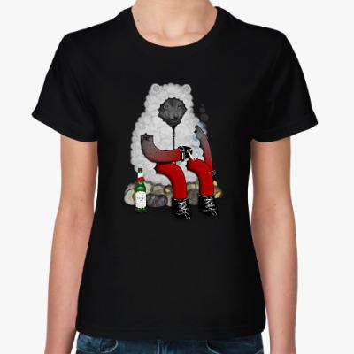 Женская футболка Волк в овечьей шкуре