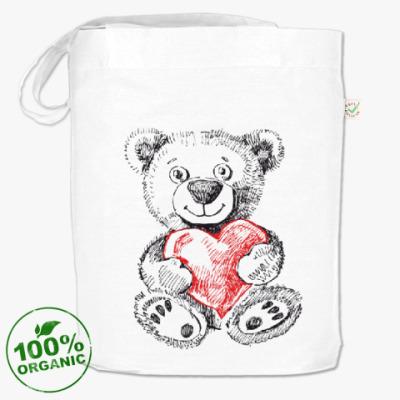 Сумка Медвежонок с сердцем
