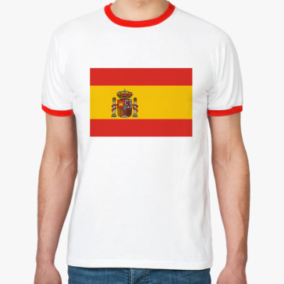 Футболка Ringer-T   Испания