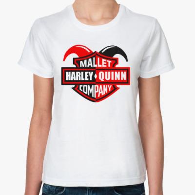 Классическая футболка Харли Квинн