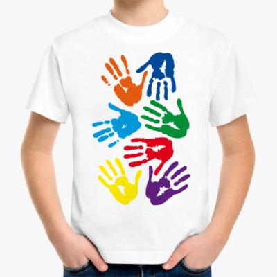 Детская футболка Руки