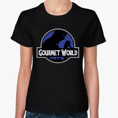 Женская футболка Гурман