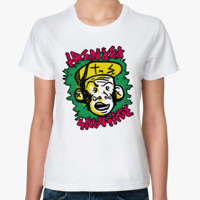 Классическая футболка 'TxSx monkey'