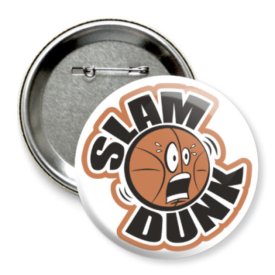 Значок 75мм Slam Dunk