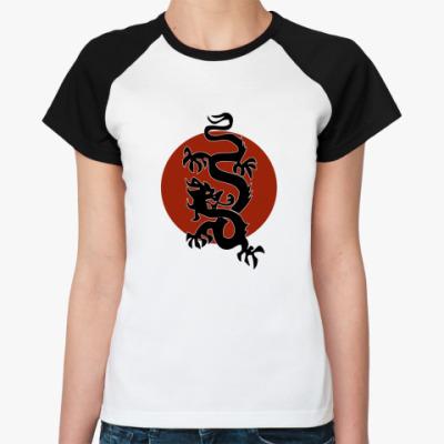 Женская футболка реглан Dragon